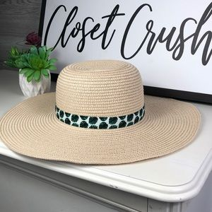 NWOT Summer & Rose Beach Hat Woven